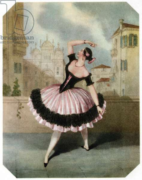 Marie Guy Stéphan dancing
