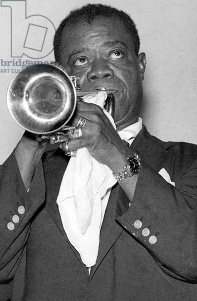 Louis Armstrong - portrait