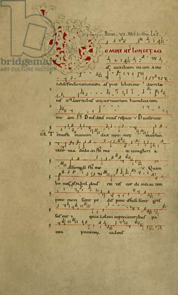 11th Century Musical Codex, Page 1
