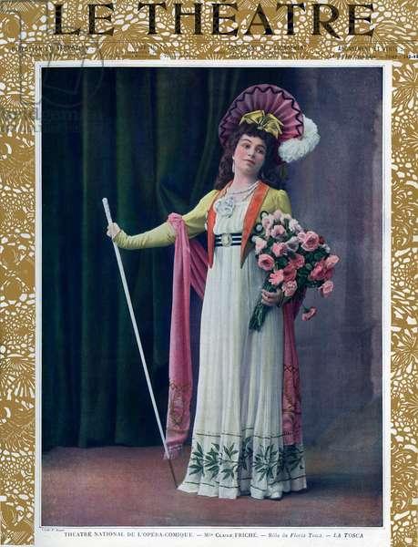 Claire Friche as Floria Tosca