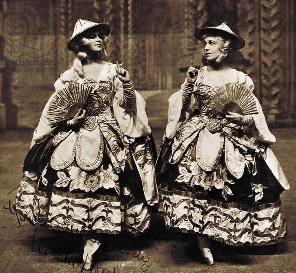 Leon Bakst's Porcelain Princess costumes