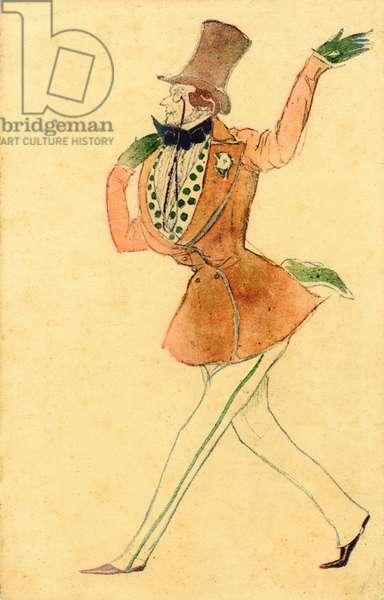 'Schumann's Carnival (Pantalon)' costume