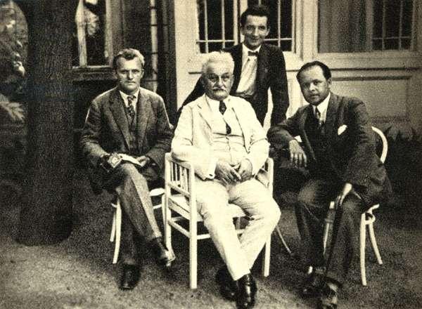 Leos Janacek with his