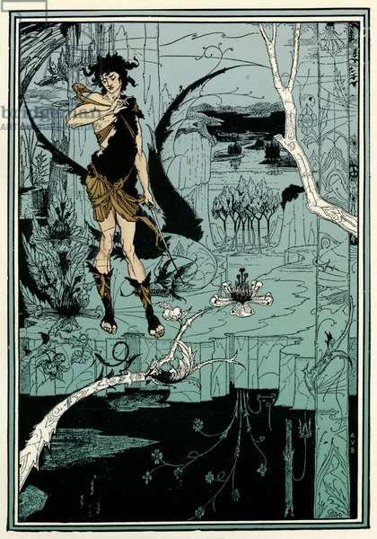 Siegfried by Aubrey Beardsley`