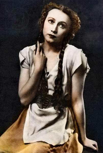 Galina Ulanova - portrait
