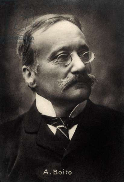 Arrigo Boito Italian poet