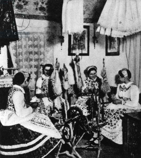 BARTOK Bela collected folksongs