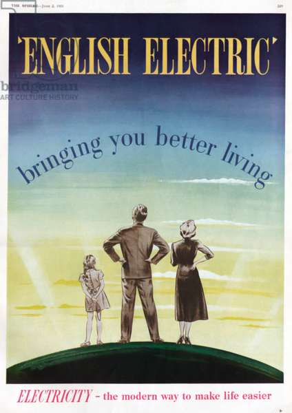 Advertisment for English Electric