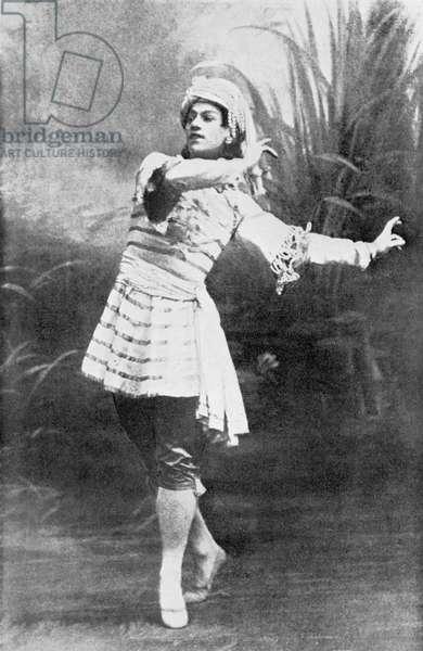 Vaslav Nijinksy - dancing