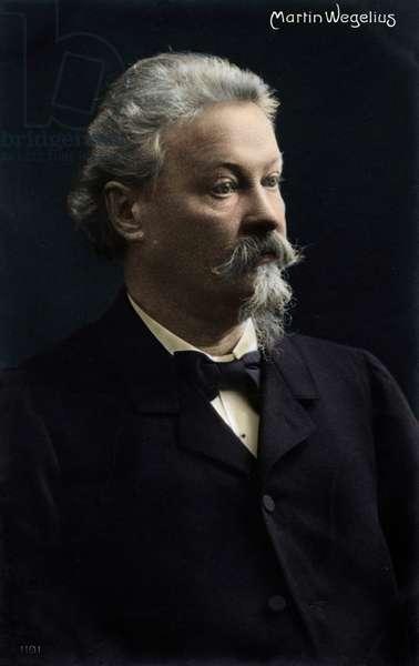 Martin Wegelius - portrait