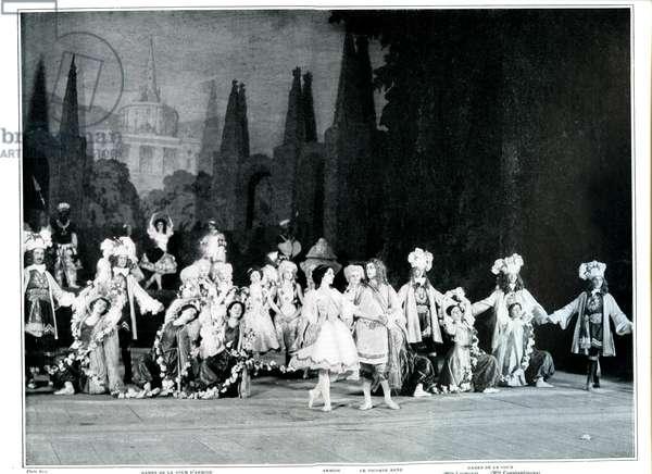 Ballet Russe in Le Pavillon d'Armide, 1909