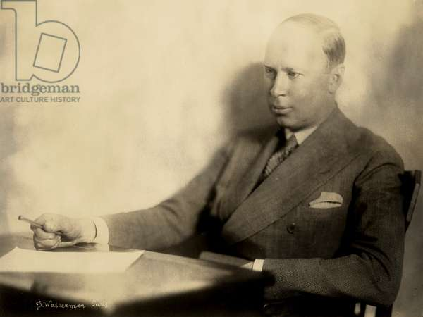 Sergei Prokofiev in Paris