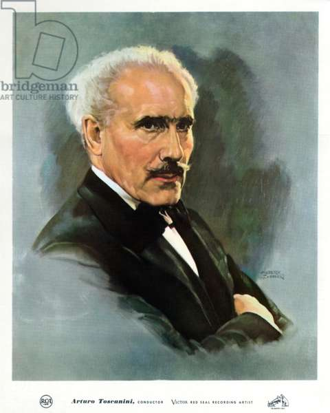 Portrait of Arturo Toscanini