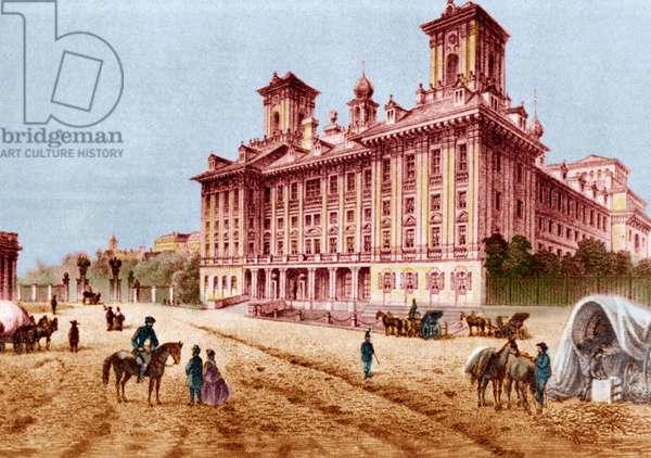 Esterházy (Esterháza) Palace in  Eisenstadt