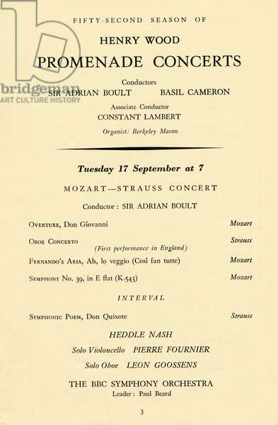 Strauss 's Oboe Concerto