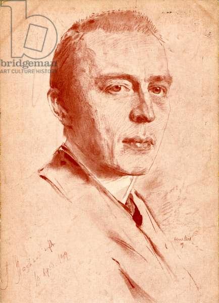 Sergei Rachmaninov by Robert
