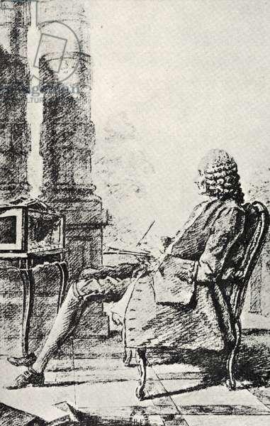 Jean Philippe Rameau making