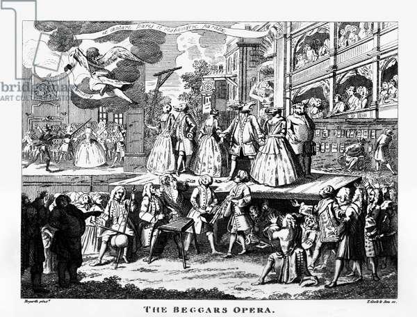 The Beggar's Opera - etching by William Hogarth