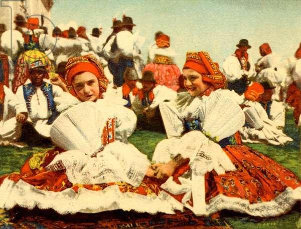 Czech girls in national