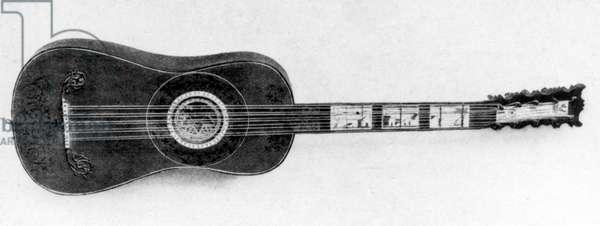 Baroque Guitar by Matteo Sellas, 1630