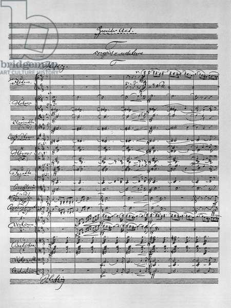 Original Score from Richard