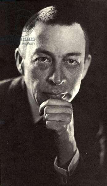 S Rachmaninov - portrait