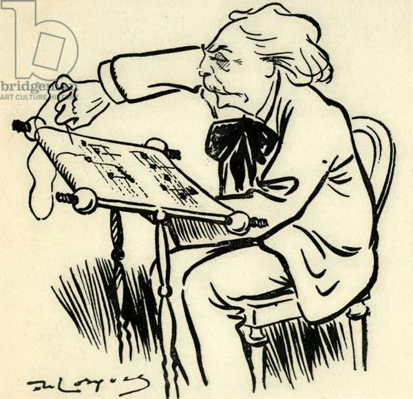 Caricature of FAURÉ from