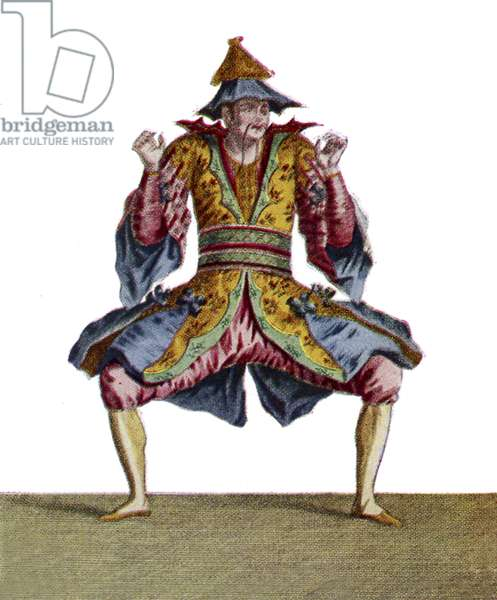 Les Indes Galantes, ballet costume for Chinese person