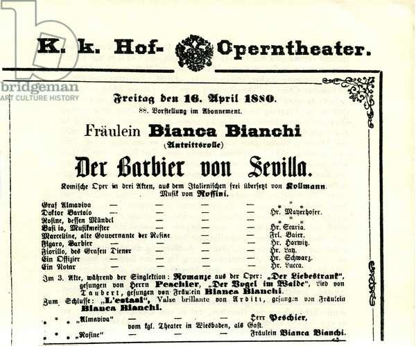'The Barber of Seville'