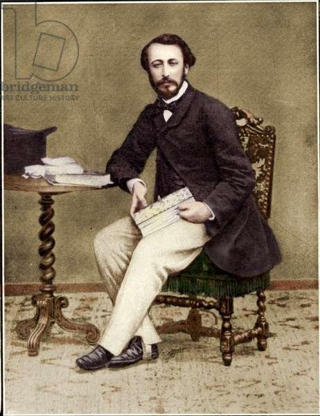 Camille Saint-Saens as a