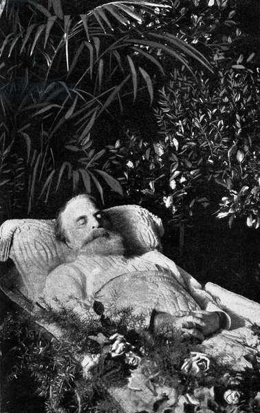 Joseph Joachim on his death bed