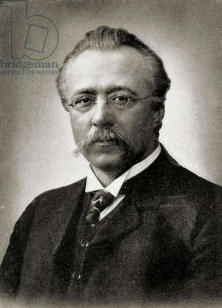 Max Fiedler portrait German