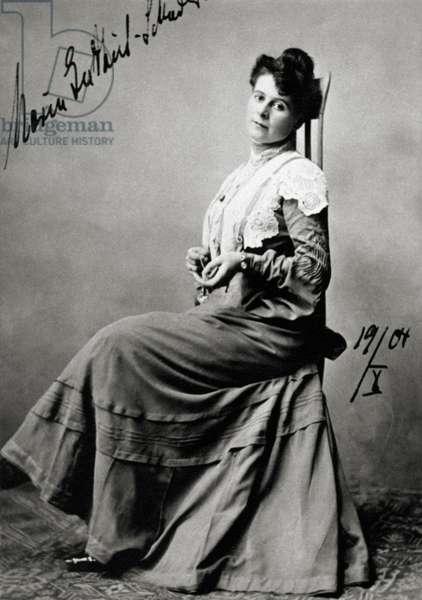 Marie GUTHEIL-SCHODER - signed