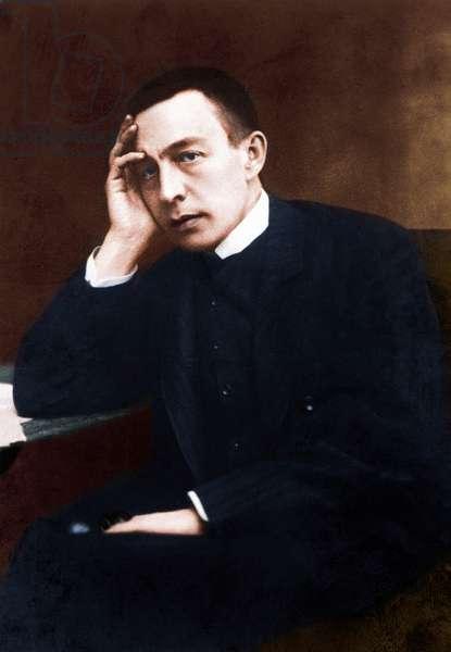 Sergei Rachmaninov - portrait