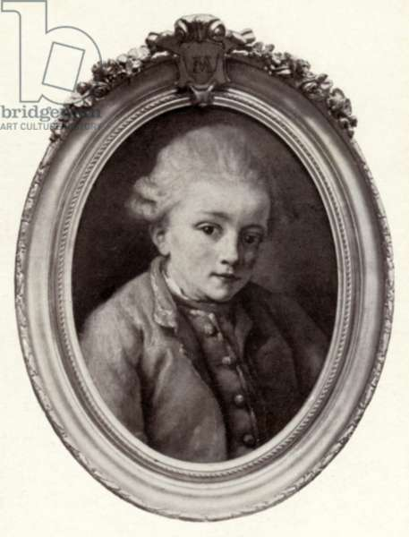 Wolfgang Amadeus Mozart by