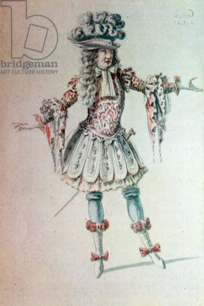 Costume design for character
