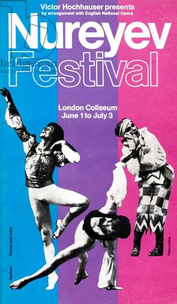 Nureyev Festival programme cover