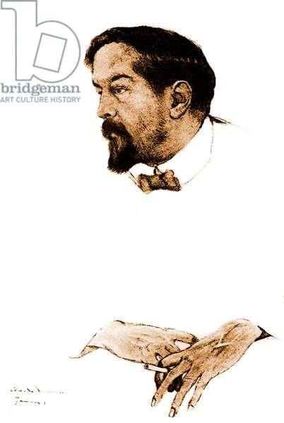 Claude Debussy - portrait