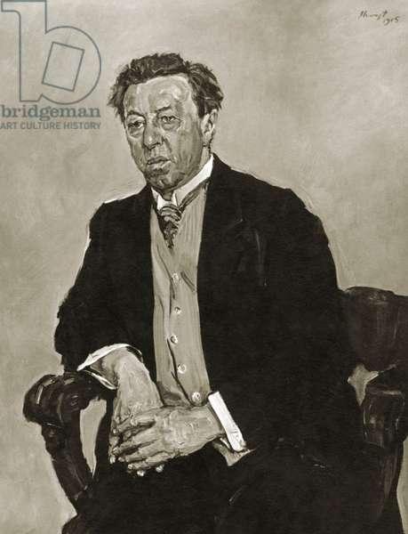 Conrad Ansorge - portrait