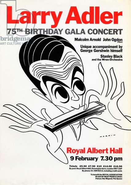 Larry ADLER - poster