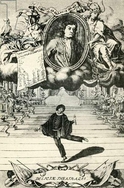 Titlepage from Gregorio Lambranzi' s 'Nuova e curiosa scuola de'balli theatrali'