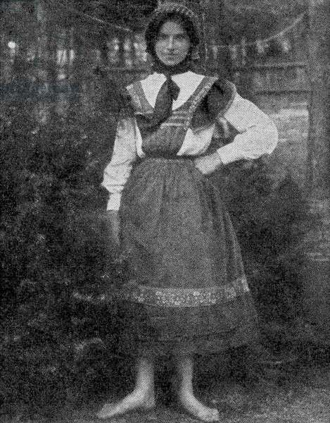 Marie Rambert aged 13 in 1901