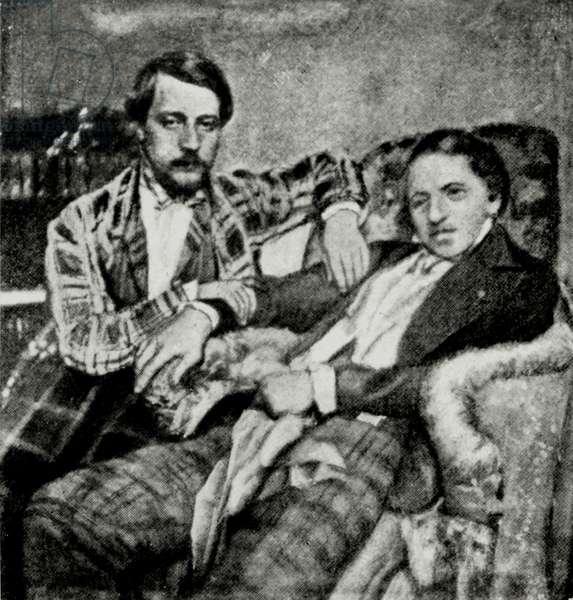 Donizetti and his nephew