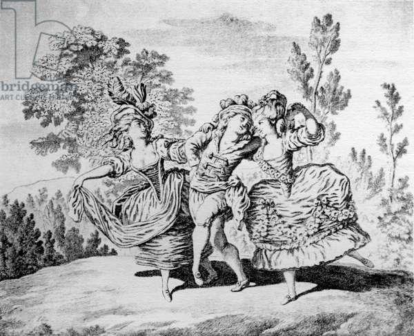 Marie Allard, Pelin and Jean Dauberval
