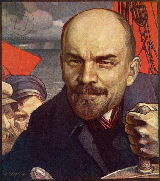 Vladimir Ilyich Lenin leader