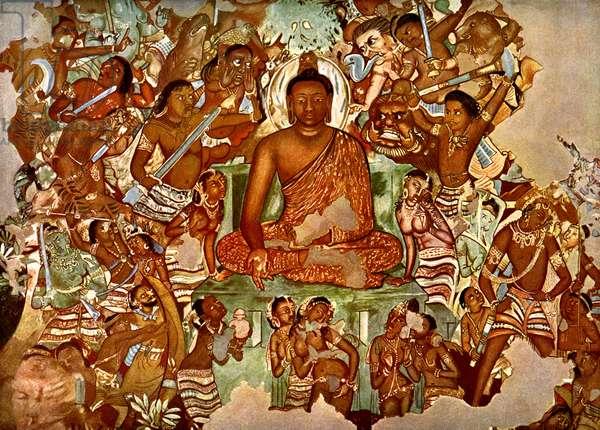 Guatama Buddha 's temptation