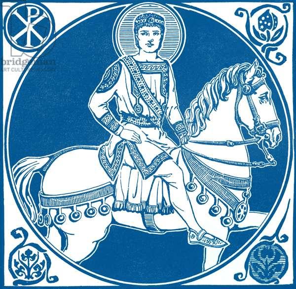 Byzantine Emperor Justinian.