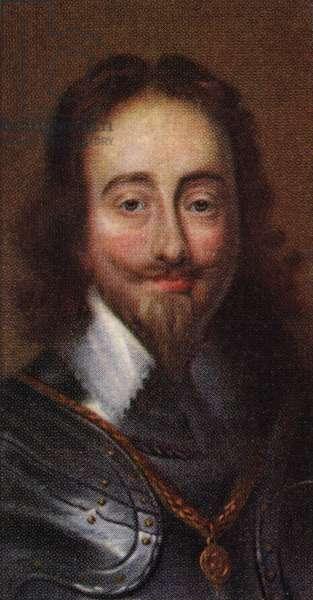 King Charles I portrait