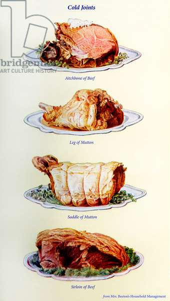 Mrs Beeton 's cookery book - cold joints dishes