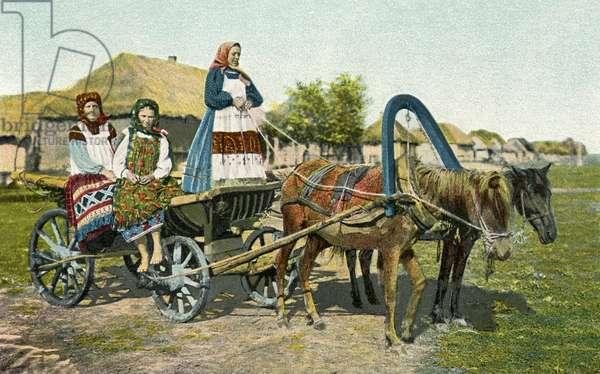 Russian peasants 19th century